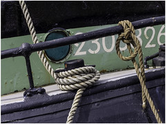 Mooring bollard (Luc V. de Zeeuw) Tags: bollard rope tholen zeeland netherlands