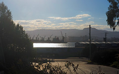 Port Kembla (Kaptain Kobold) Tags: kaptainkobold portkembla wollongong nsw australia landscape industrial urban city escarpment view scenery port mountain sunlight