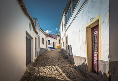 Old street (Sizun Eye) Tags: colorful street porte windows doors cobblestone cobble town historical silves portugal houses sunlight sizuneye nikond750 nikon1424mmf28 1424mm