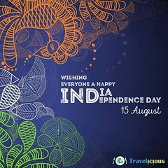 Team Travelicious wishes everyone a Happy Independence Day! This #Independence pledge to get #freedom from #plastic and #pollution. #Travel and keep you #environment clean. #India #Salute #travelicious (Travelicious World) Tags: independence freedom plastic pollution travel environment india salute travelicious