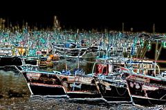 India - Gujarat - Veraval - Fishing Harbour - 1dd (asienman) Tags: india gujarat veraval fishingharbour asienmanphotography asienmanphotoart