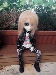 Hans Liebermann (Lunalila1) Tags: doll groove junplaning handmade outfit punk nunoya fabric japan costura 16 scale taeyang albireo hans liebermann