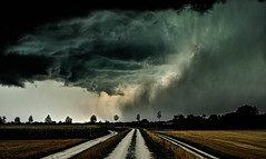 it comes down..... (Yelliholm) Tags: landscape landschaft gewitter stormy clouds germany bavaria dramatic ngc