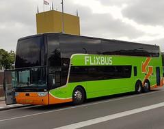 NLD Lanting 74 (Roderik-D) Tags: vanhool tdx27astromega 3axle 2doors 74 65bjk1 doubledeckerbus 2015 diesel doppeldeckerbus triaxlebus groningermuseum