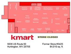 Huntington Kmart Map (Random Retail) Tags: huntington wv kmart map storelayout store retail