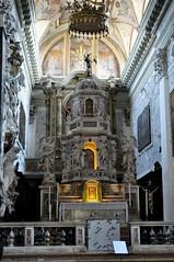Maître-autel, San Nicola de Tolentino (XVIIe-XVIIIe), campo dei Toletini, Santa Croce, Venise, Vénétie, Italie.
