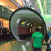 PlayerUnknown's Battlegrounds (PUBG) tube at Xbox One booth. Gamescom 2018