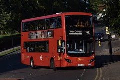 Go-Ahead London subsidiary London Central MCV EvoSeti bodied Volvo B5LH (MHV19 - BU16 OZD) X68 (London Bus Breh) Tags: goahead goaheadgroup goaheadlondon londoncentral manufacturingcommercialvehicles mcvbusandcoach mcv mcvevoseti evoseti volvo volvobus volvob5l volvob5lh volvob5lhybrid hybrid hybridbus hybridtechnology mhv mhv19 bu16ozd 16reg londonbuses london buses bus londonbusesroutex68 routex68 norwood norwoodpark crowndale centralhill tfl transportforlondon