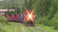 CN 578 Working Saint Leonard (MaineTrainChaser) Tags: trains train cn 578 west westbound new brunswick saint leonard
