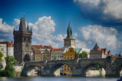Charles Bridge Prague (Lou-bella) Tags: prague city cityscape building sel18105g sonya6000 a6000 ilce6000