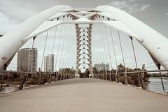 The Humber Bay Arch Bridge,Toronto (SONICGREGU) Tags: fullframe 35mm nikon ontario bridge canada toronto humberbayarchbridge sonicgregu