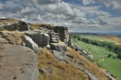 Stanage Edge Rocks (Bri_J) Tags: stanageedge peakdistrict nationalpark hathersage derbyshire uk hdr countryside nikon d7200 rock cliff clouds sky hill