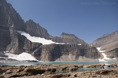 "Upper Grinnell Lake with Salamander Glacier • <a style=""font-size:0.8em;"" href=""http://www.flickr.com/photos/63501323@N07/30113964108/"" target=""_blank"">View on Flickr</a>"