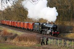 GCR 71448 (kgvuk) Tags: gcr greatcentralrailway swithland swithlandreservoir railway train steamtrain locomotive steamlocomotive steamengine 48624 8f 280 kinchleylane