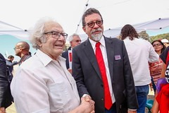 Ato inter-religioso reúne Nobel da Paz em apoio a Lula e solidariedade a grevistas. Foto: Magno Romero           Data:14/agosto/2018 (PTnaCâmara) Tags: ato inter religioso nobel da paz lula solidariedade stf greve de fome afonso florence
