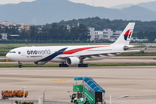 Malaysia Airlines A330-300 9M-MTO One World 001