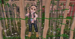Stylish Survivor (Emery/Teagan Parker) Tags: little miss rsc dino camp toddleedoo parka survivor cute adorable outside sl secondlife