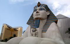 Vegas Sphinx (PortfolioChris) Tags: las vegas lasvegas sphinx outdoor
