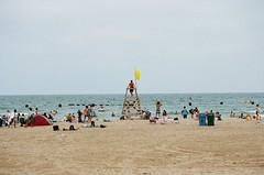 North Ave Beach Lifeguard 3 (shaundancekid) Tags: porta400 kodak nikon n65 chicago northavenuebeach