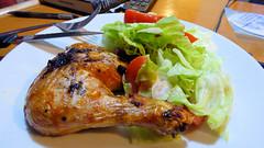 Air fryer cooking (Sandy Austin) Tags: panasoniclumixdmcfz70 sandyaustin massey westauckland auckland northisland newzealand food airfryer chicken salad homecooked