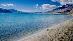 Pangong Lake, Leh Ladakh (YadavThyagaraj) Tags: pangong pangonglake leh ladakh lake bluelake water wallpaper waterbody landscape