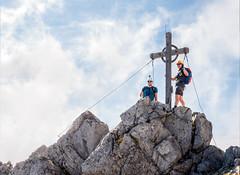 Seegrubenspitze (2.350m) (Bergfex_Tirol) Tags: fixedroperoute viaferrata klettersteig summit gipfel mountain berg karwendel nordkette tyrol tirol innsbruck oostenrijk oesterreich österreich autriche seegrube bergfex austria alpen alps gebirge mountains sport mountaineering klettern climbing abenteuer adventure