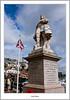 William - Prince of Orange (flatfoot471) Tags: 2016 boats brixham devon england fishing flag goldenhindreplica harbour holiday july normal ships statue summer unitedkingdom urban gbr