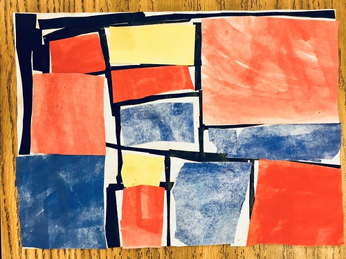 "Every year I get new favorites with this #kindergarten #pietmondrian  inspired painted paper gridded #collage ❤️❤️  They have such an amazing lyricism at this age that I admire so much. Want em all! • <a style=""font-size:0.8em;"" href=""http://www.flickr.com/photos/57802765@N07/42086993810/"" target=""_blank"">View on Flickr</a>"