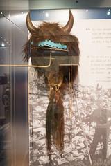 Blackfoot buffalo horn headdress (quinet) Tags: 2017 aborigène canada firstnations indian kunst ontario rom royalontariomuseum toronto ureinwohner aboriginal art museum musée native 124