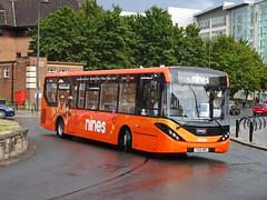 trent barton 254 Derby (Guy Arab UF) Tags: trent barton 254 yx66wmc alexander dennis e20d enviro 200 mmc bus corporation street derby derbyshire wellglade group buses wellgladegroup