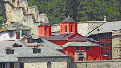 Greece, Macedonia, Aegean Sea, Xenophontos  monastery view from a boat cruising around Mount Athos peninsula (Macedonia Travel & News) Tags: greecemacedonia agiooros cruise chalkidiki aegeansea macedoniatravel greece makedonia macedoniatimeless macedonian macédoine mazedonien μακεδονια ancient greek culture vergina sun blog star thessaloniki hellenic republic prilep tetovo bitola kumanovo veles gostivar strumica stip struga negotino kavadarsi gevgelija skopje debar matka ohrid mavrovo heraclea lyncestis history alexander great philip macedon nato eu fifa uefa un fiba macedonianstar verginasun macedoniapeople macedonians peopleofmacedonia macedonianpeople macedoniablog macedoniagreece timeless македонија macedonianews macedoniapress македонијамакедонскимакедонци tourisminmacedonia