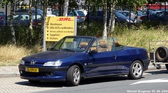 Peugeot 306 cabriolet Palm Beach 1999 (XBXG) Tags: zlxv31 peugeot 306 cabriolet palm beach 1999 peugeot306 cabrio convertible roadster tourer blue bleu anchoragelaan schiphol nederland holland netherlands paysbas youngtimer old french car auto automobile voiture ancienne française vehicle outdoor pininfarina pinin farina