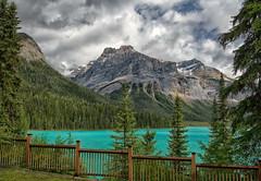 The Beauty of Glacial Waters (Philip Kuntz) Tags: emeraldlake glacialwaters emeraldpeak turquoisewaters lakes yohonationalpark britishcolumbia canada