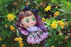 Summer Afternoon Nap_a (Moonrabbit_ly) Tags: licca love breeze flower nap blythedoll blythe doll summer customblythe