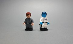 Imperial High Command (THE BRICK IS BACK FOR THE FINAL CUT) Tags: starwars lego motti thrawn empire