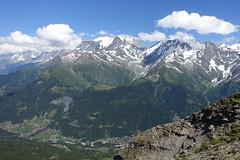 Mont Blanc @ Hike to Aiguille Croche & Mont Joly (*_*) Tags: saintgervaislesbains hautesavoie france 74 europe savoie july 2018 summer été sunny hike hiking randonnée marche mountain montagne afternoon hiketoaiguillecrochemontjoly montblanc