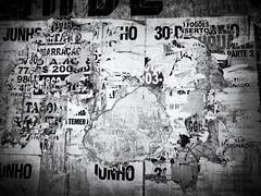 Countless Layers (Diego3336) Tags: flyposting post posting bill billpost billposting wildposting wheatpasteposter wheatpaste guerrillamarketing poster flyer postnobills peeling peel paint wall ad ads advertising streetart streetshot streetphoto urban bw blackandwhite blackwhite texture lapa clicksp saopaulo sp brasil brazil latinamerica southamerica cameraphone