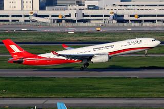 Shanghai Airlines | Airbus A330-300 | B-6097 | Shanghai Hongqiao