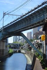 tokyo7279 (tanayan) Tags: urban town cityscape tokyo japan nikon v3 東京 日本 road street alley ochanomizu 御茶ノ水 jr train railway