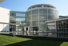 Zentrale (Don Claudio, Vienna) Tags: salzburg ag direktion headquarters zentrale austria österreich eingang energie verkehr telekommunikation wilhelm holzbauer safe