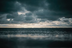 beach, clouds, dark (toptenalternatives) Tags: beach clouds dark dawn dramatic dusk evening horizon landscape ocean outdoors rain sea seascape sky storm sun sunset water weather