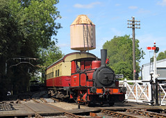 """Baxter on the Branch (Treflyn) Tags: bluebell railway fletcher jennings 040t """"captain baxter"""" branch line didcot centre great western society"""