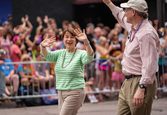 Sen. Amy Klobuchar in Twin Cities Pride Parade 2018 (Tony Webster) Tags: amyklobuchar minneapolis minnesota pride prideparade senamyklobuchar senatoramyklobuchar twincitiespride parade unitedstates us