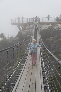 Mum on the Sky Pilot Suspension Bridge (_K1_2226)