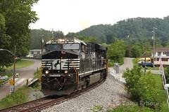 Norton, VA (TolgaEastCoast) Tags: ns norfolk southern railway train u48 es44dc coal virginia norton clinch valley district art scenic appalachian mountains