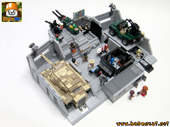LEGO JOE HQ COMMAND CENTER 05 (baronsat) Tags: lego moc custom gi joe playset hq command center diorama minifigures 334 military 80s headquarters vintage base action figures comics animated us soldier hasbro army navy air force cobra tv television serie 1985 real american hero
