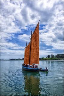 Bretagne  , terra di barche a vela ...