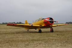 Harvard Texan AT-6 PH-TXN tijdens de Texel Airshow op Texel Airport 04-08-2018 (marcelwijers) Tags: harvard texan at6 phtxn tijdens de texel airshow op airport 04082018 plane vliegtuig airplane nederland niederlande netherlands pays bas