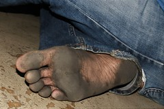 dirty city feet 602 (dirtyfeet6811) Tags: feet foot sole barefoot dirtyfeet dirtyfoot dirtysole blacksole cityfeet