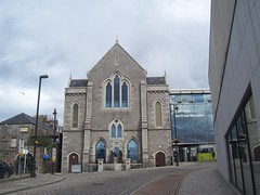 Aberdeen Maritime Museum, Shiprow, Aberdeen, July 2018 (allanmaciver) Tags: aberdeen maritime museum granite building 1877 congregational trinity oil gas fishing industry ships history interesting free shiprow lamp allanmaciver